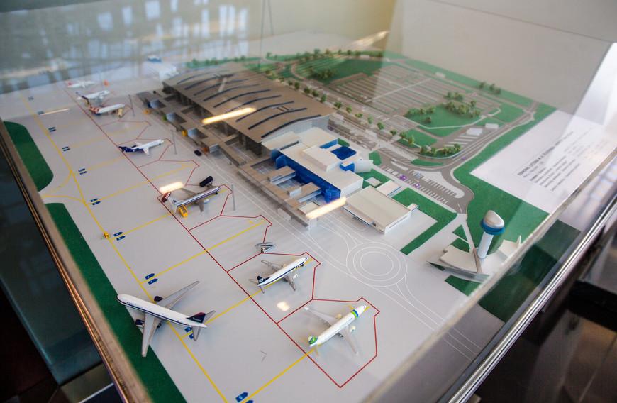 Для общего представления как выглядит аэропорт.