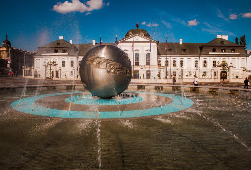 Дворец Грассалковичей или Президентский дворец