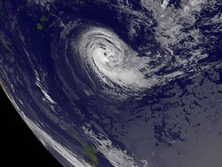 "Ураган ""Ирма"" бушует на Карибских островах"