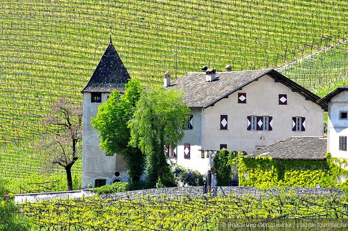 Поселок Кортачча или на местном диалекте - Курташ. Здесь начинается знаменитая дорога вина с лучшими погребами северной Италии. Эта дорога растянулась среди виноградников на 30 км. Вина здесь, особенно белые, безумно вкусны и хмельны ))).