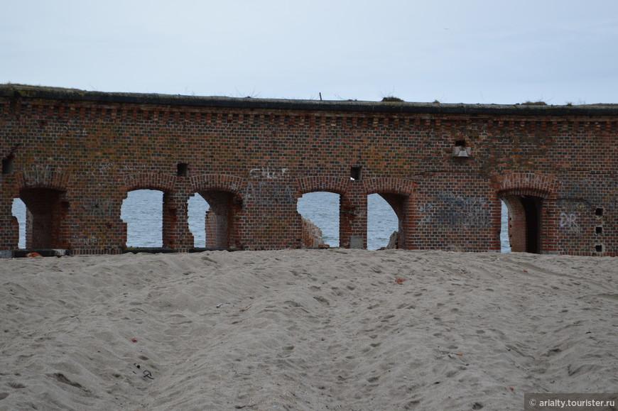 Фортовый дворик...