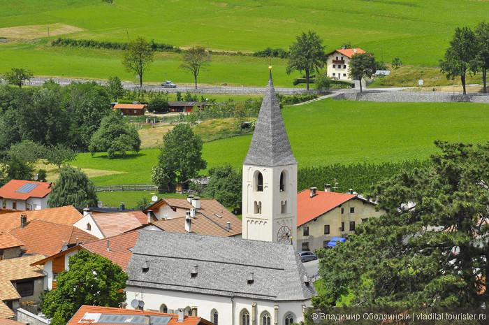 По дороге к границе с Австрией, рядом с городом Глоренца.