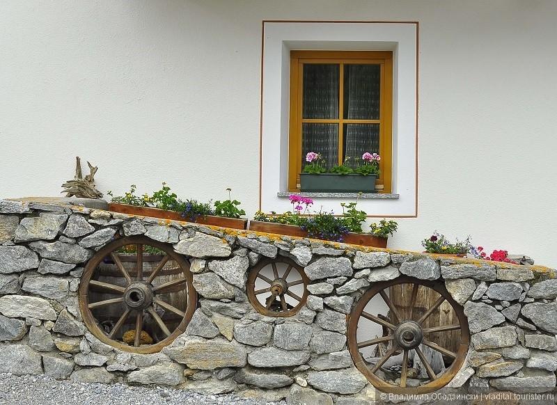 В деревне на плоскогорье Валле Лунга.