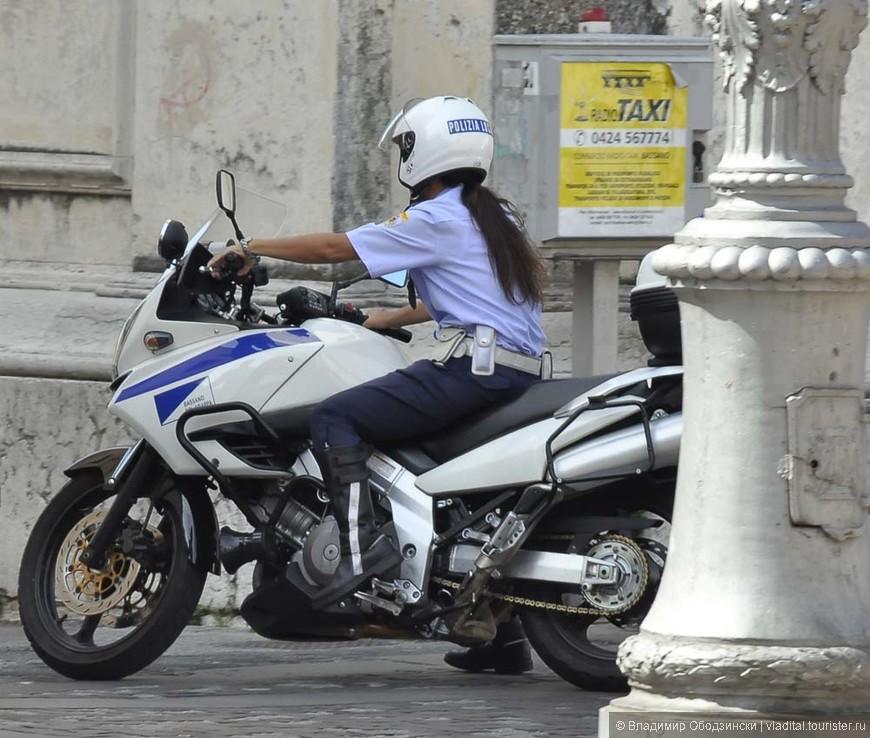 Вот такие полицейские в Италии !!!