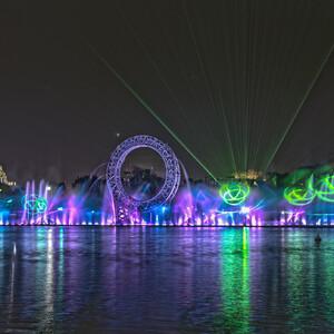 Ночная Астана