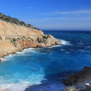 Дорога назад, в Сиде и опять я прилипла к окну, наслаждаясь морем!