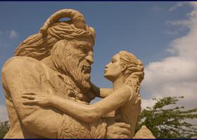 Фестиваль песчаных скульптур-2017 в Бургасе