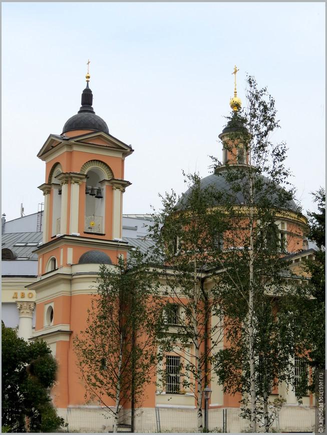 Храм Варвары Великомученицы на Варварке (1801 г.)