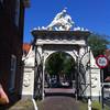 Белые стрелецкие ворота