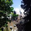 Вид с лейденской башни на Хоогландсе керк