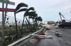"""Ураган """"Мария"""" достиг наивысшей  категории мощности"""