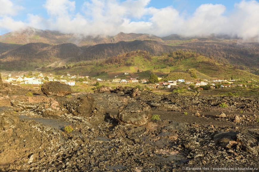 Часто под слоями лавы образуются пещеры.