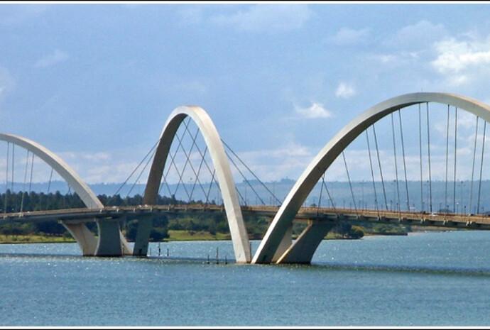 Бразилиа — город, который построили Жуселину Кубичек и Оскар Нимейер