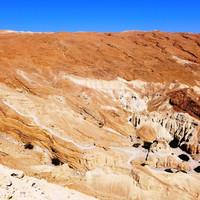 Умирающее мертвое море и живая иудейская пустыня