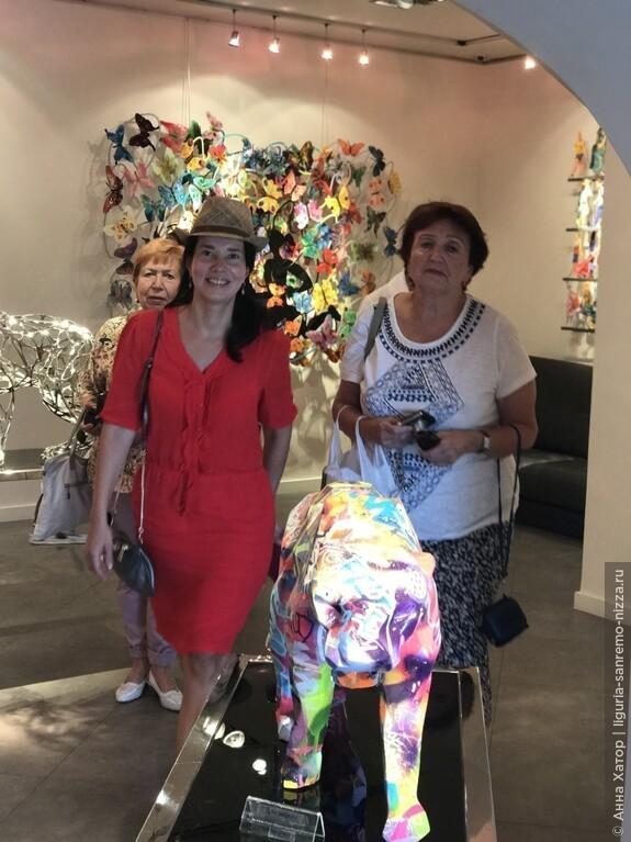 Галерея скульптур артиста Ричарда Орлинского в Сан-Поль-Де-Ванс.