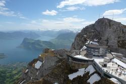 Туристам в Швейцарии предлагают бесплатно подняться на гору Пилатус
