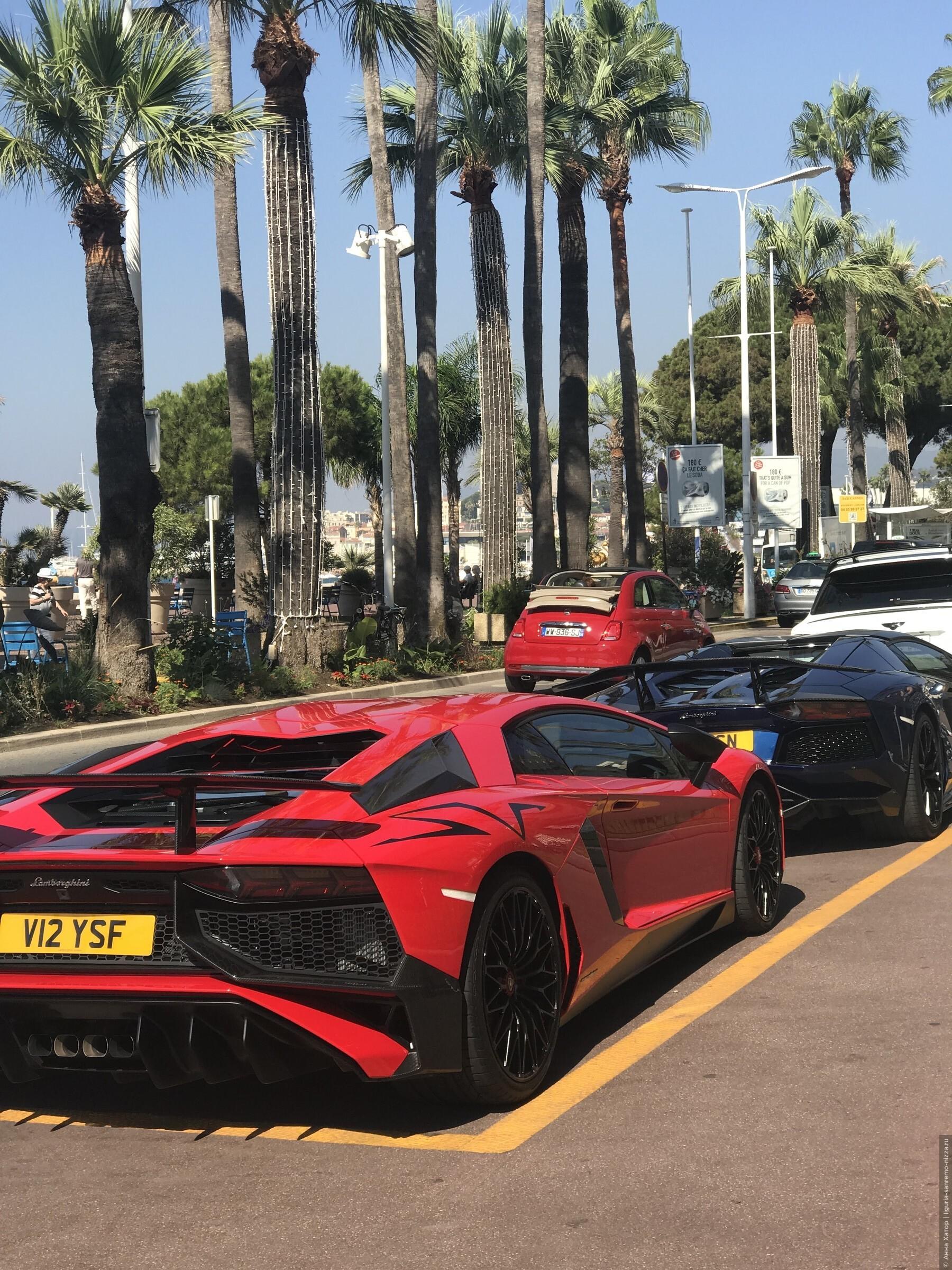 Элитные автомобили - Канны и Монте Карло