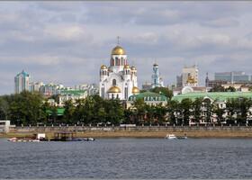 Екатеринбург летом 2017