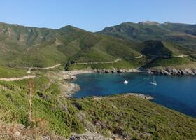 Полуостров Corse. Франция.