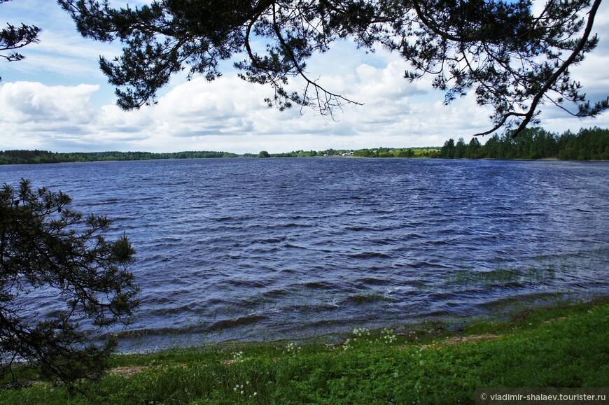 Ферапонтовское озеро.