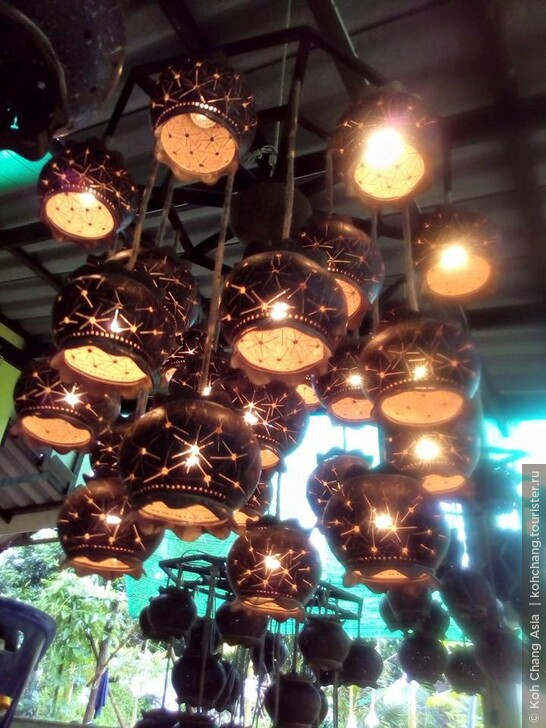 Магазин Сувениров из Кокоса на острове Ко Чанг