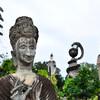 Буддистский парк у границы с Лаосом