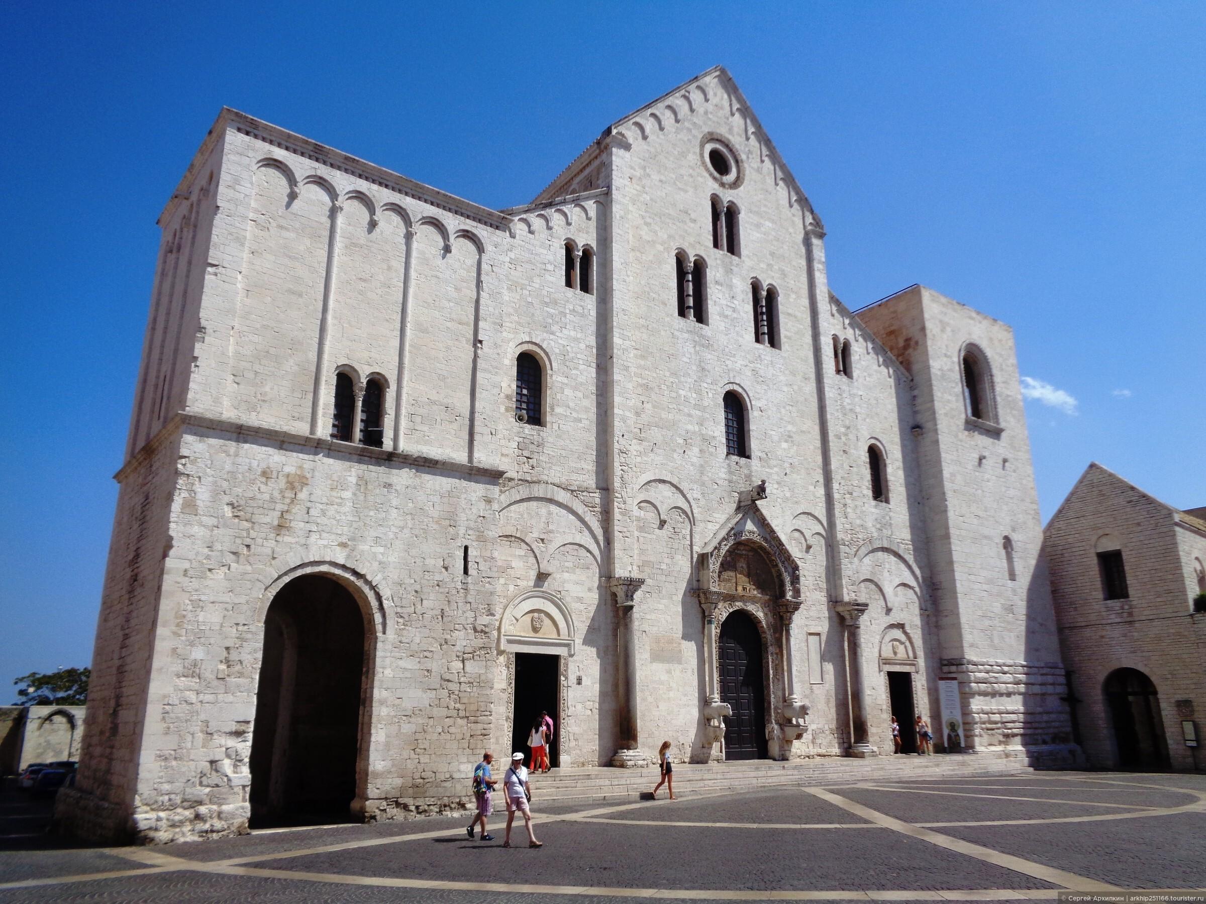 Самостоятельно в Бари — в главный религиозный центр Юга Италии .