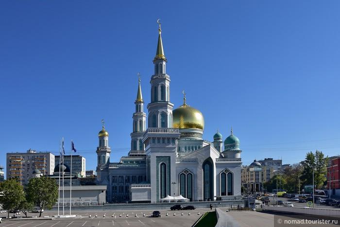 Мечеть отстраивали негры мусульмане
