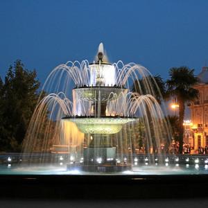 Баку осенним вечером