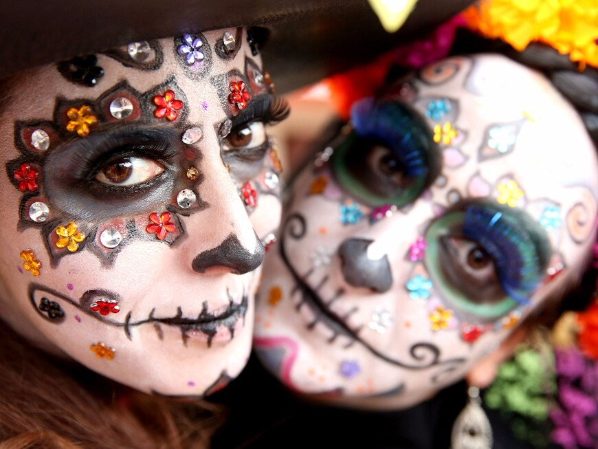 О Дне Мертвых и других религиозных праздниках: Языческий Католицизм в Мексике