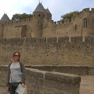 Внешние крепостные стены.