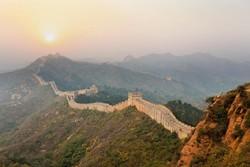 Туристы заблудились на Великой Китайской стене