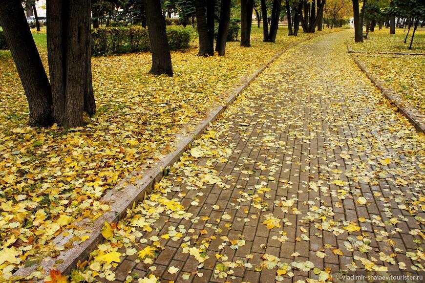 """""""На ковре из жёлтых листьев..."""""""