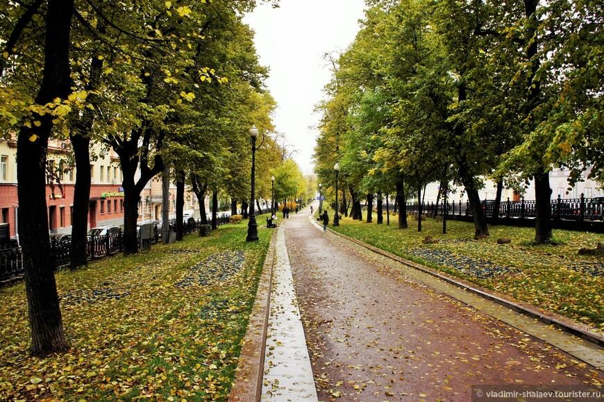 Петровский бульвар.