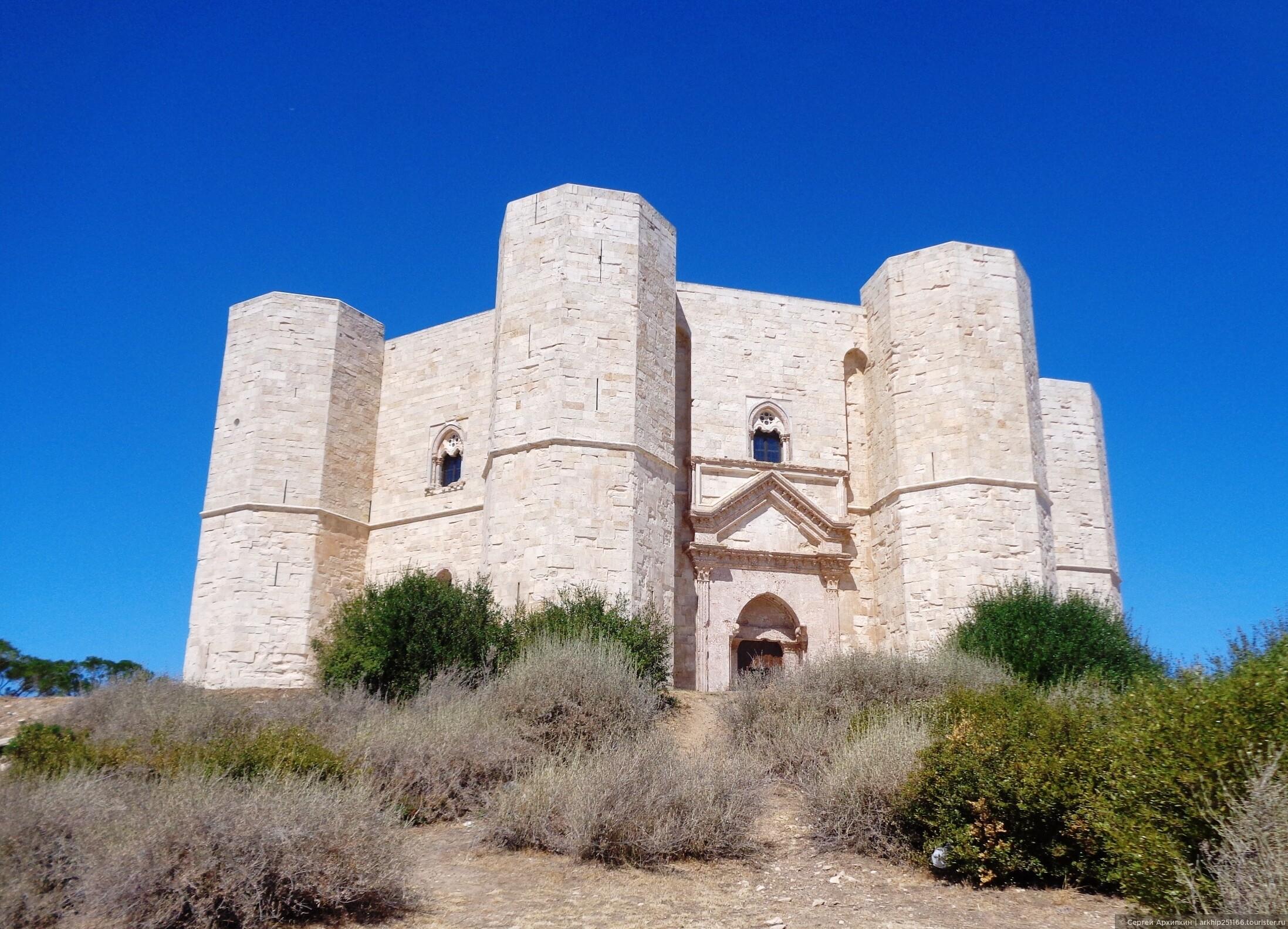 Из Бари в Андрию и загадочный замок Кастель-дель-Монте