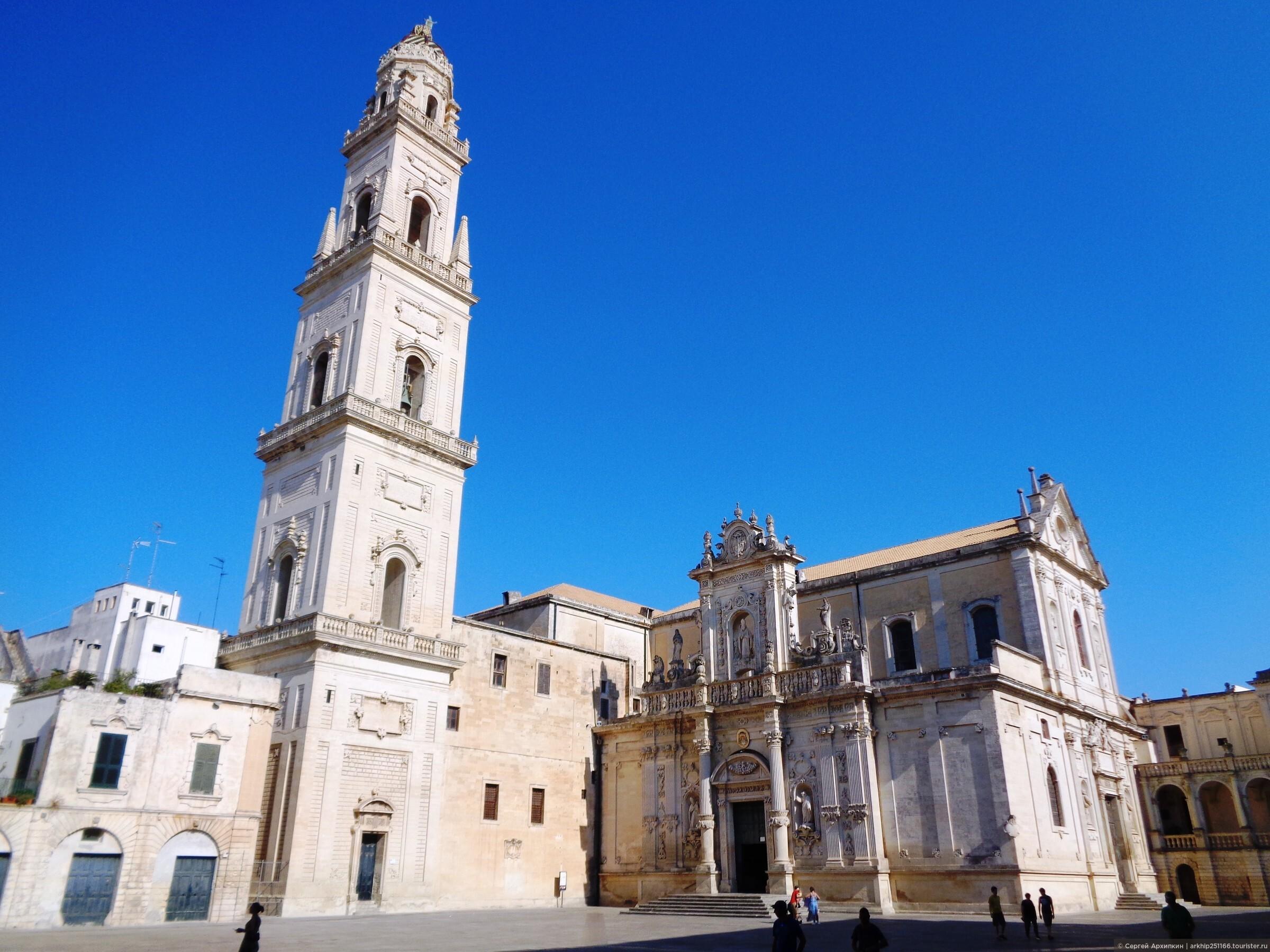 Самостоятельно в Лечче — в столицу Саленто и золотой город барокко