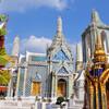 Невероятной детализации тайская архитектура