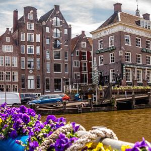Бекон, пряник и бутерброд с селёдкой. Амстердам