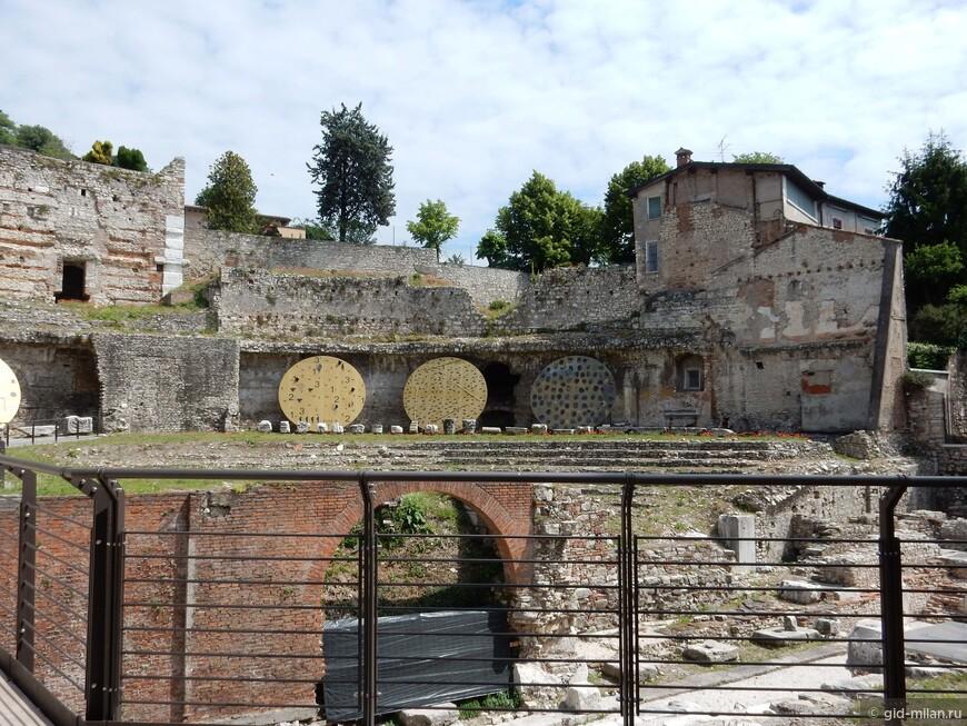 Остатки римского театра.