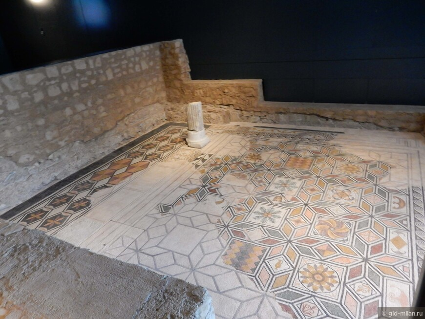 Музей Санта Джулия стоит на развалинах древнеримских вилл.