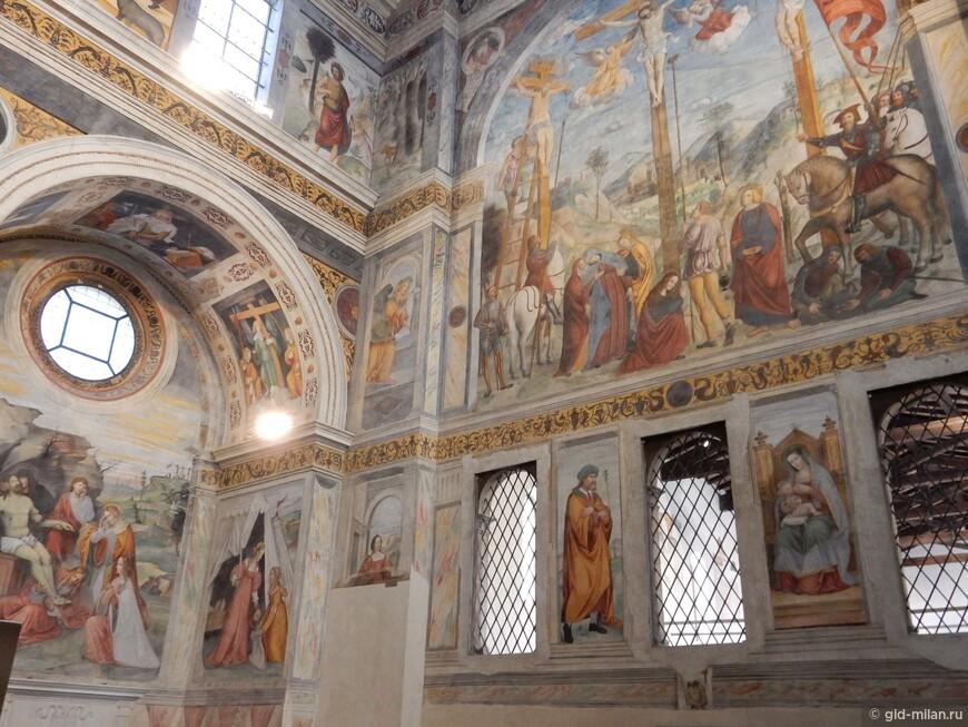 Фрески эпохи Возрождения в церкви музея Санта Джулия.