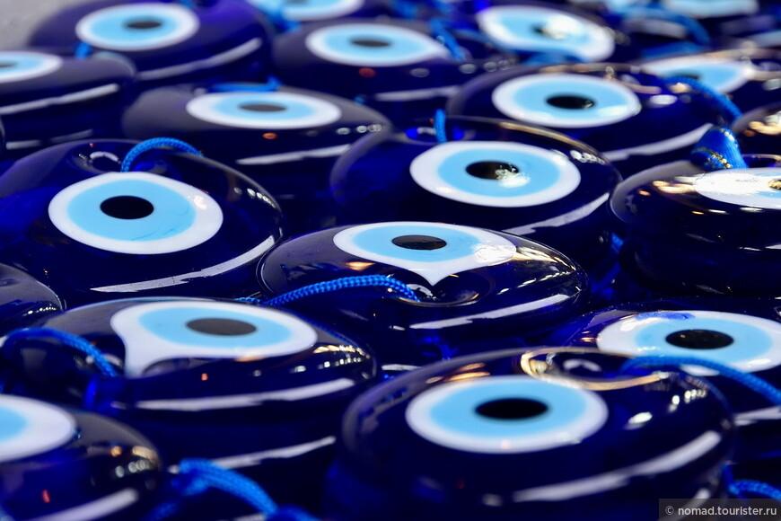 Эти амулетики собрали в себе всю синь окружающих Турцию морей....