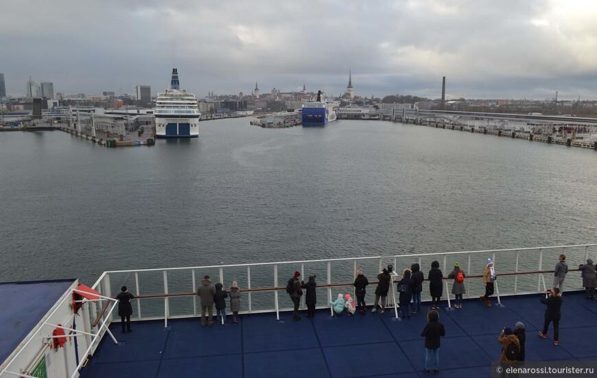 Профиль Таллинна без круизных лайнеров просто невозможен.