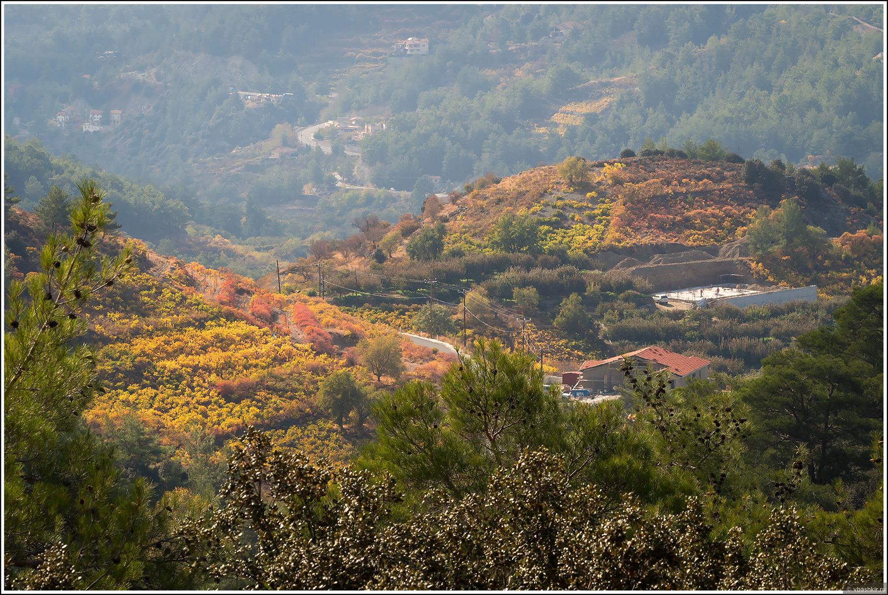 Тропа Мадари. Осенние виноградники., Моменты и эпизоды