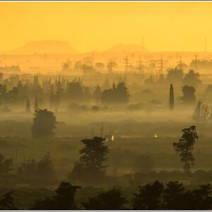Рассвет на Кипре.