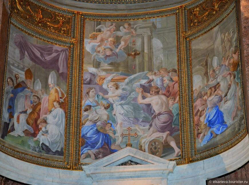 Фрески церкви Санта-Мария-делла-Анима