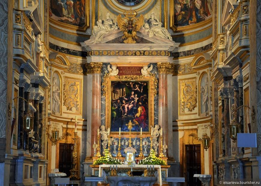 Церковь немецко-язычных католиков в Риме.