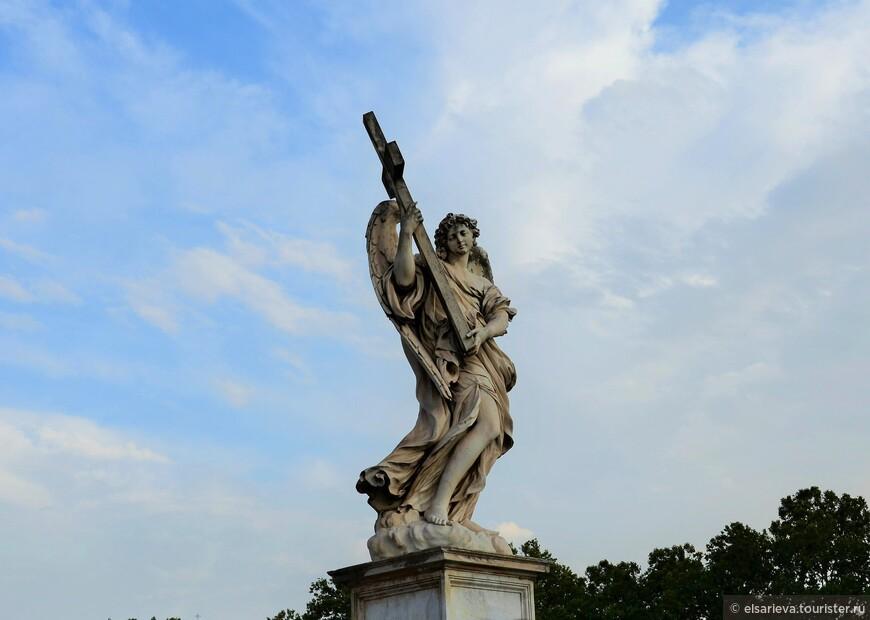 Скульптура моста Святых Ангелов