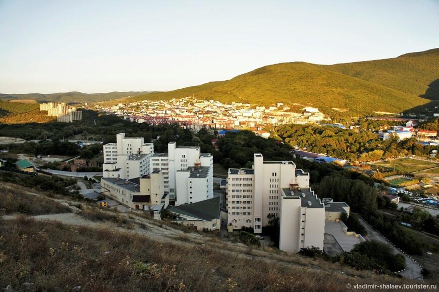Вид на долину Сукко.