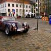Морган - авто для Регины мило согласился предоставить мой знакомый Петер. У него коллекция старинных автомобилей.